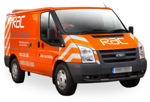 RAC Breakdown vehicle