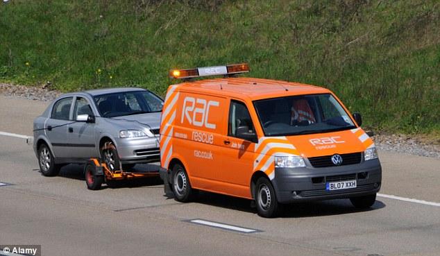 RAC vehicle cover