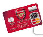 Arsenal football club credit card