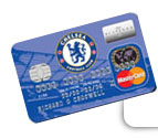 Chelsea football club credit card