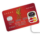 Liverpool UTD Football Club Credit Card